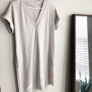 NEW Beige T-Shirt Dress